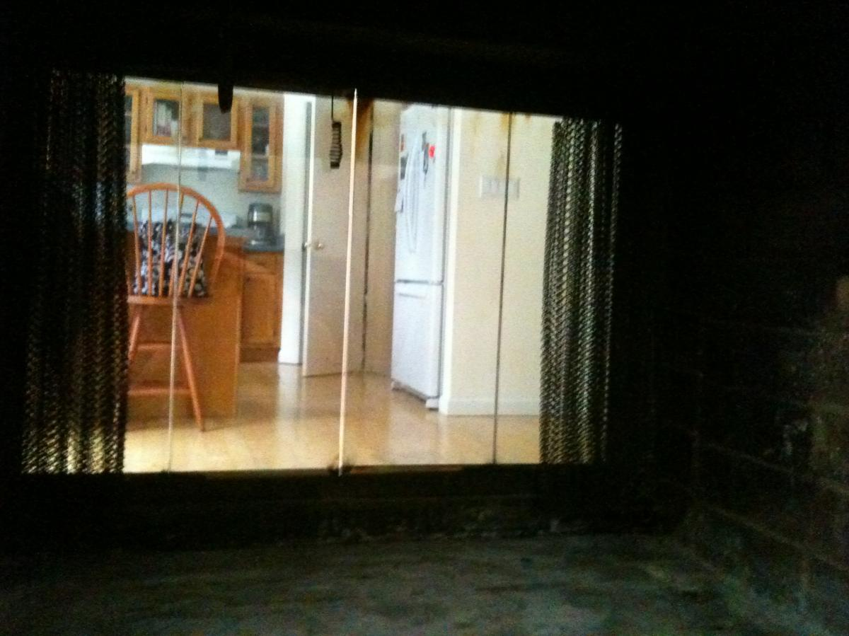sealing fireplace doors wood pellets gas oil geothermal