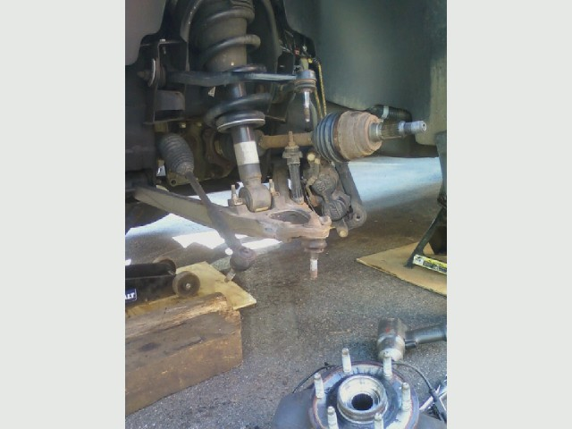 Ball joint job, Silverado.jpg