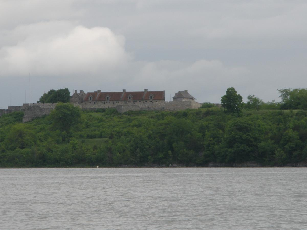 VT fishing, Lake Champlain, Fort Ticonderoga.JPG