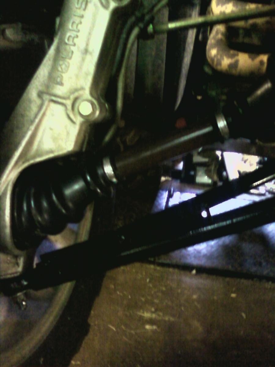 Polaris, new CV axle, installed (2).jpg
