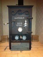 Schrader Wood Stove Hand Fired Coal Stoves Amp Furnaces