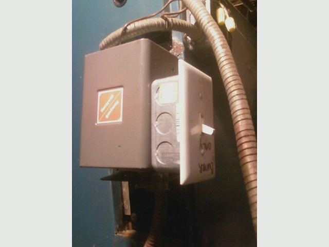 Boiler repair,  old aquastat installed.jpg