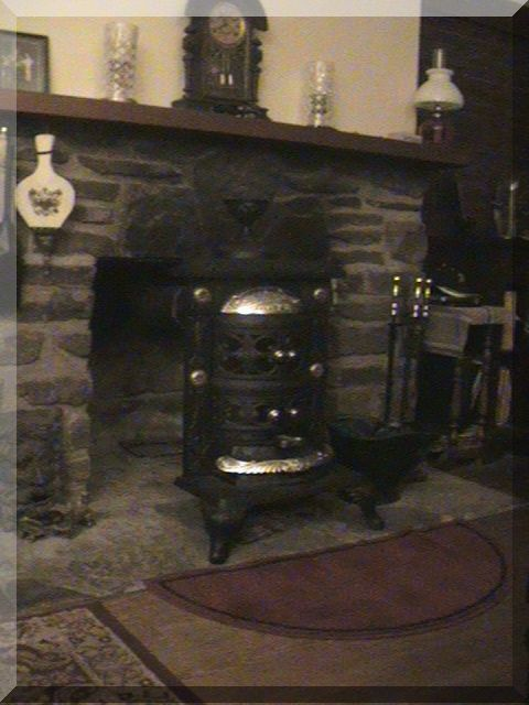Stove Installed In Fireplace.jpg