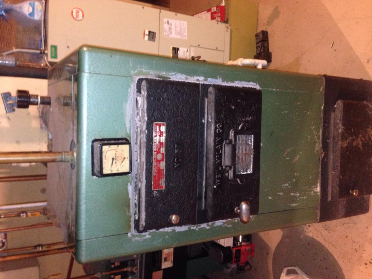Old Weil-Mclain Boiler