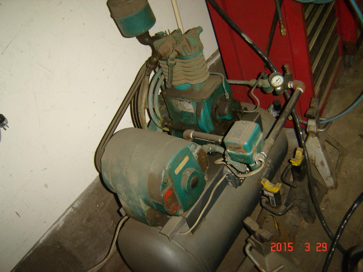 Air Compressor ? | Hand Fired Coal Stoves & Furnaces Using