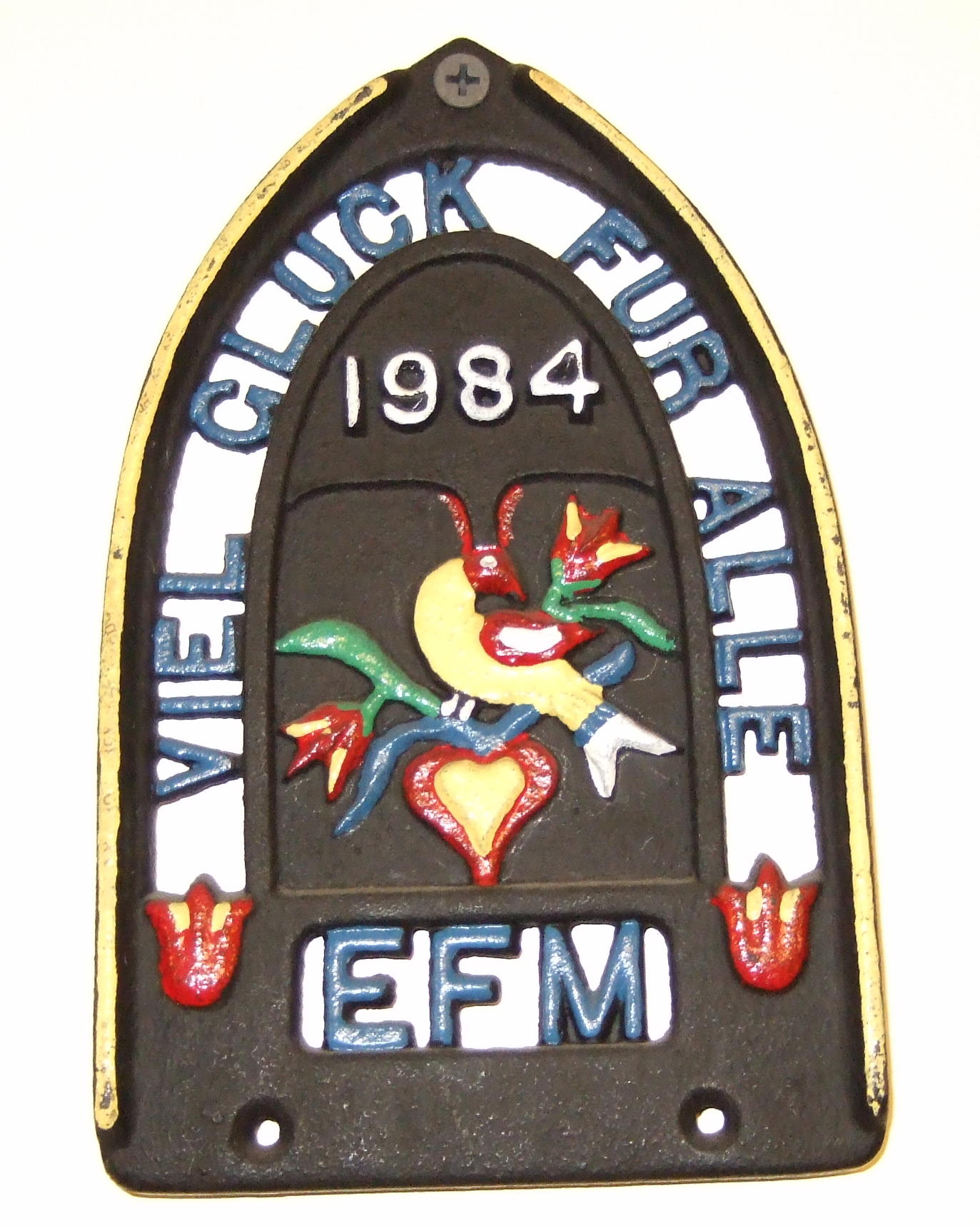 EFM Trivet Issued in 1984