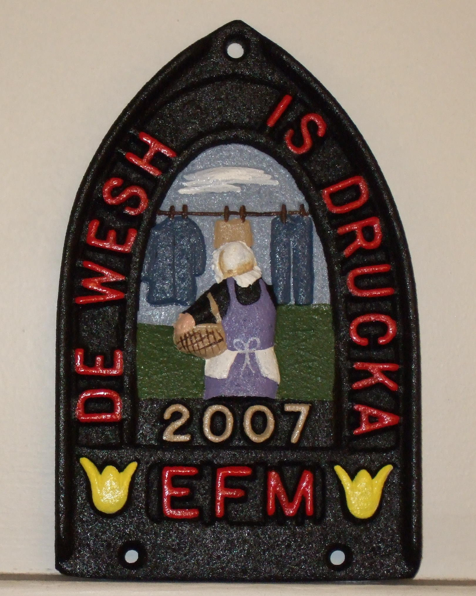 EFM Trivet Issued in 2007